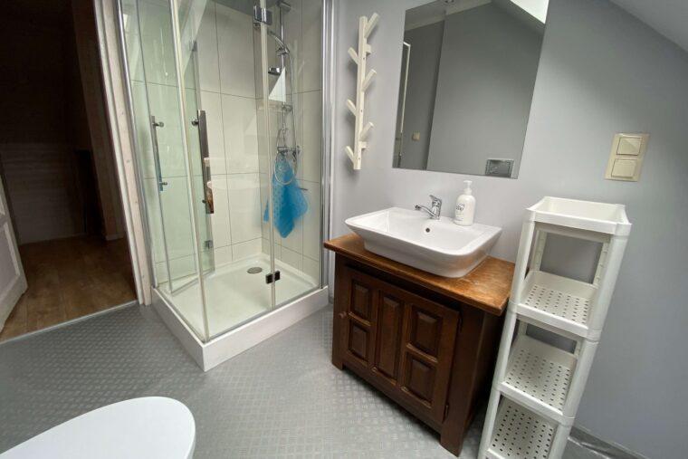 A Morze Ustka łazienka na piętrze