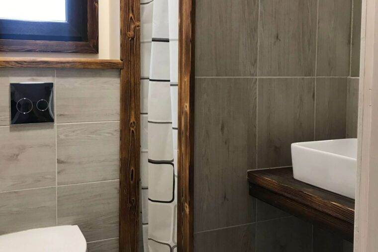 A Morze Ustka łązienka wc umywalka prysznic